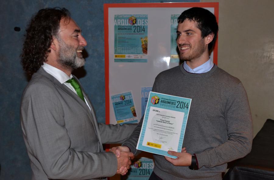 Fran Lorenzo recibbe premio especial VEC