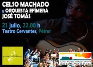 Concierto solidario Celso Machado y la Orquesta Efímera de Guitarras José Tomás - Petrer @ Teatro Cervantes | Petrer | Comunidad Valenciana | España