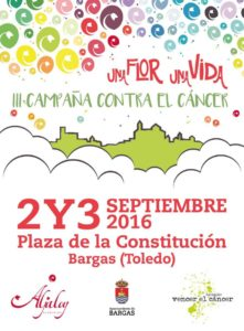 Una flor una vida - Bargas quiere Vencer el Cáncer @ Floristería Aljaloy | Bargas | Castilla-La Mancha | España