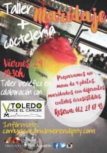 Taller de maridaje y coctelería - Mercado de San Agustín (Toledo) @ Mercado de San Agustín   Toledo   Castilla-La Mancha   España
