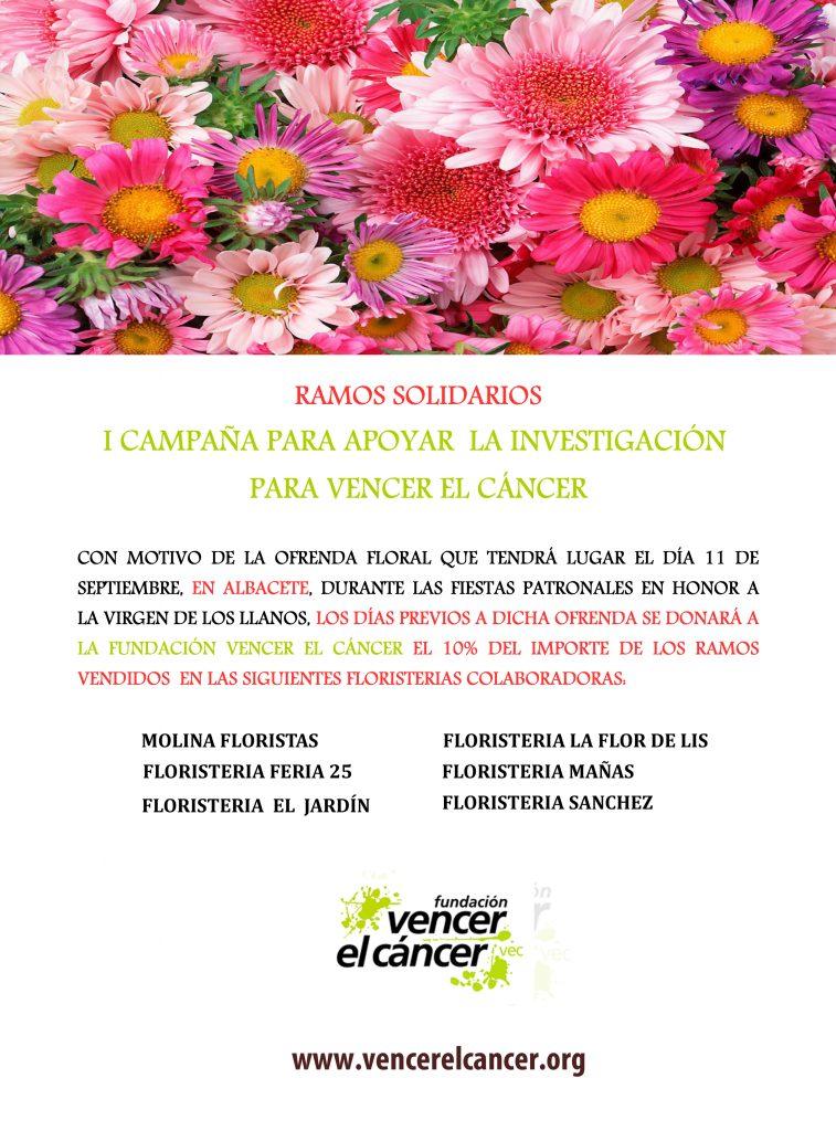 Ramos solidarios para Vencer el Cáncer en Albacete