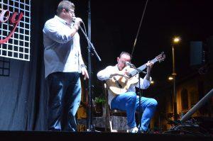 Pepe 'El Grillo', en Bargas contra el cáncer