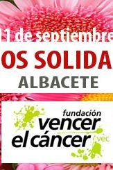 Flores solidarias para Vencer el Cáncer en Albacete