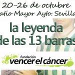 """Exposición """"La leyenda de las 13 barras"""" para Vencer el Cáncer"""