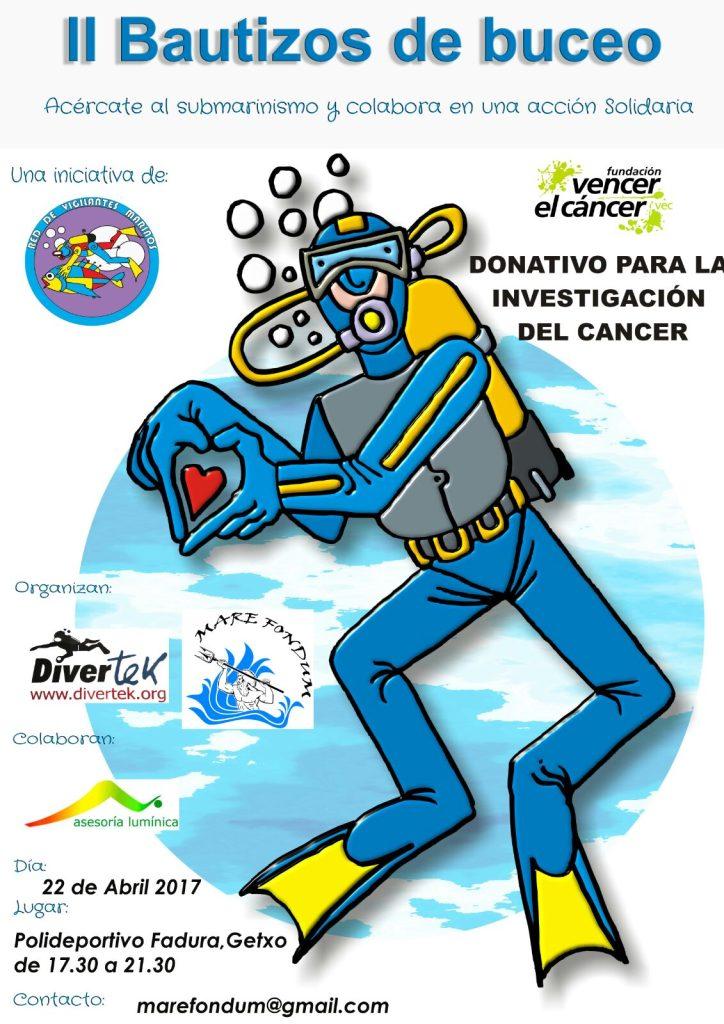 Bautizos de buceo en Getxo @ Polideportivo Fadura | Getxo | Euskadi | España