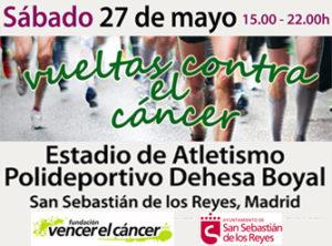 Vueltas contra el cáncer en Sanse @ Polideportivo Dehesa Boyal | San Sebastián de los Reyes | España