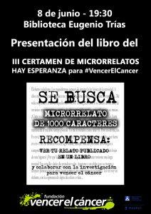 Presentación del libro III Certamen de Microrrelatos Hay Esperanza @ Biblioteca Eugenio Trías - Parque del Retiro | Madrid | Comunidad de Madrid | España