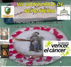 Concurso de Repostería en Rinconada de Tajo @ Plaza Mayor - Rinconada de Tajo | Rinconada | Castilla-La Mancha | España
