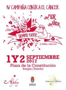Una flor una vida – IV Campaña contra el cáncer en Bargas @ Floristería Aljaloy | Bargas | Castilla-La Mancha | España