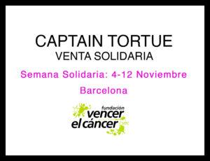 Venta solidaria de moda Captain Tortue en Barcelona @ Calle Servet 107, entre. 2ª. 08030 Barcelona | Barcelona | Catalunya | España