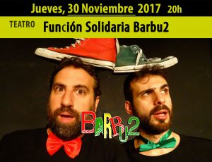 """Barbu2"", obra teatral solidaria en Madrid @ Teatro La Escalera de Jacob 