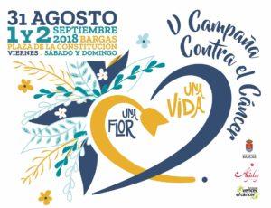 V Edición de Una Flor una Vida en Bargas (Toledo) @ Plaza Constitución | Bargas | Castilla-La Mancha | España