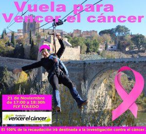 Vuela para Vencer el Cáncer: salto en tirolina en Toledo @ Fly Toledo - Puente de San Martín