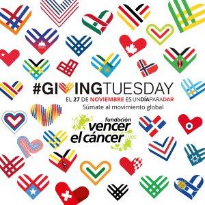 GivingTuesday un día para dar y ayudar a Vencer el Cáncer