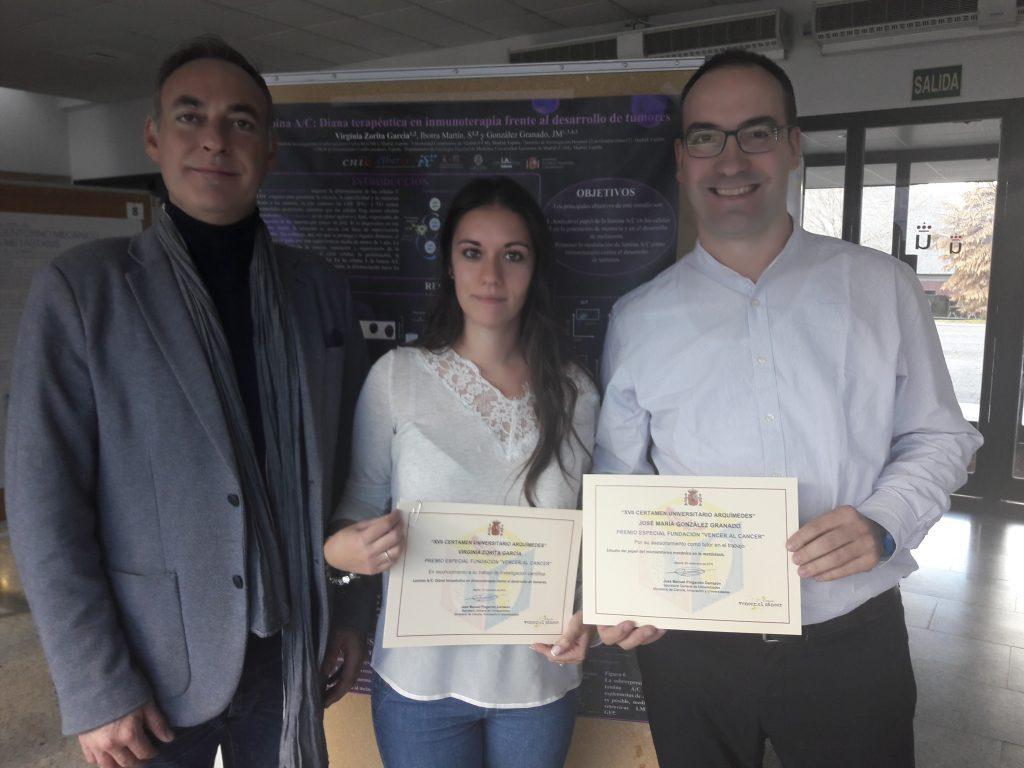 Virginia Zorita recibe el premio especial VEC