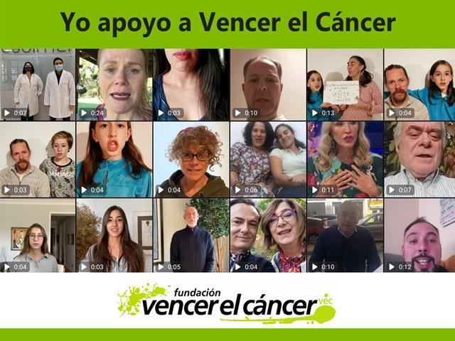 Campaña yo apoyo a vencer el cáncer