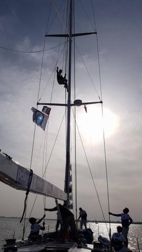 Navegando contra el cáncer