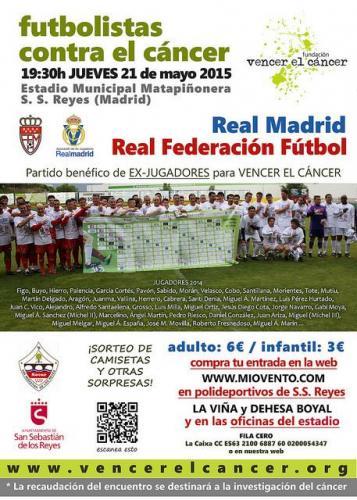 Futbolistas contra el Cáncer 2014